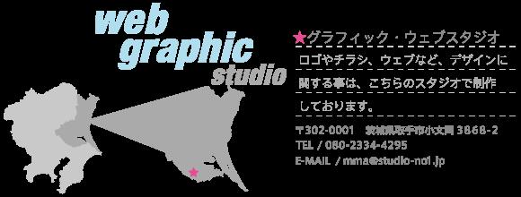 グラフィック・ウェブスタジオの地図