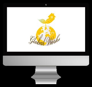 グローバルワークス様のロゴ