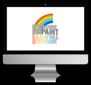 MASUMI PAINTのロゴ